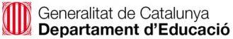 INS Llançà - CFGM Olis i Vins - Logo Departament educació